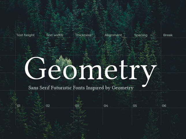 10 Free Sans Serif Futuristic Fonts Inspired by Geometry – Design Studio