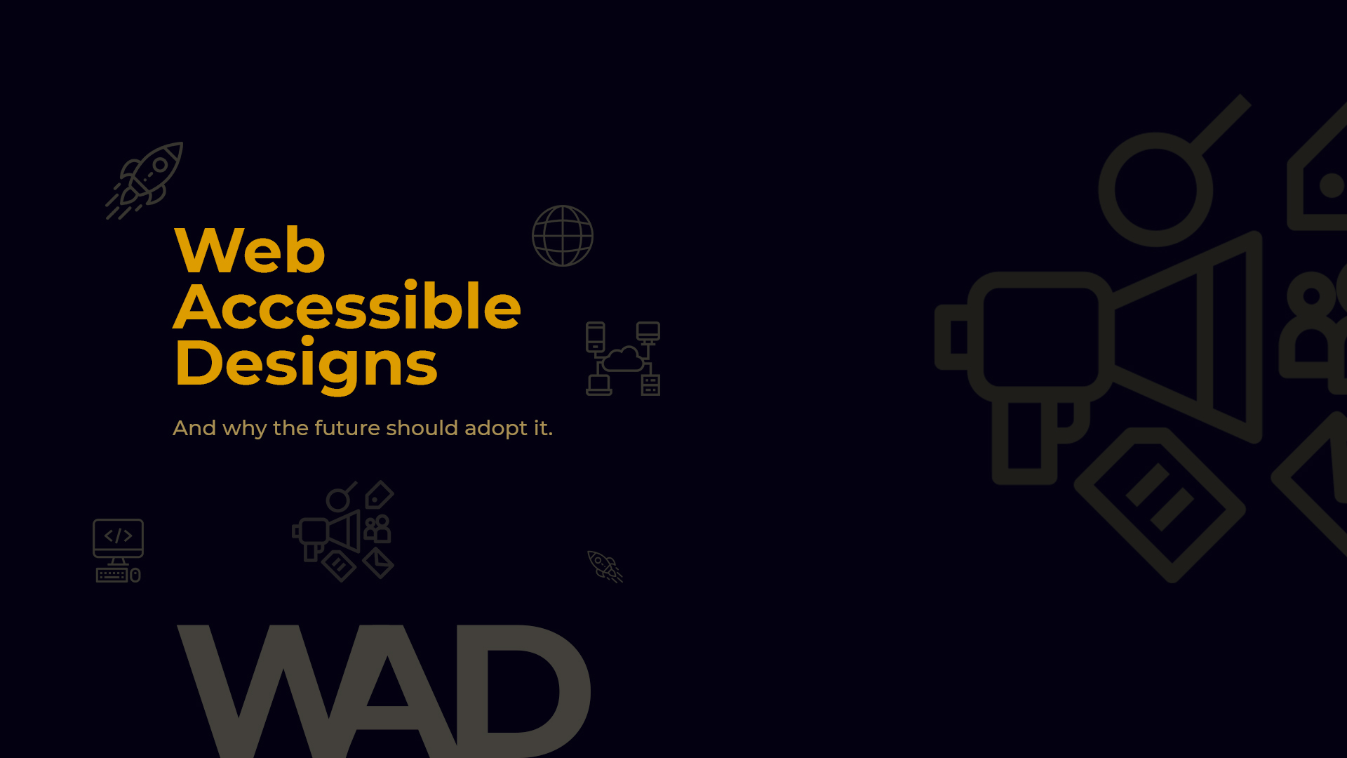 Web Accessible Design