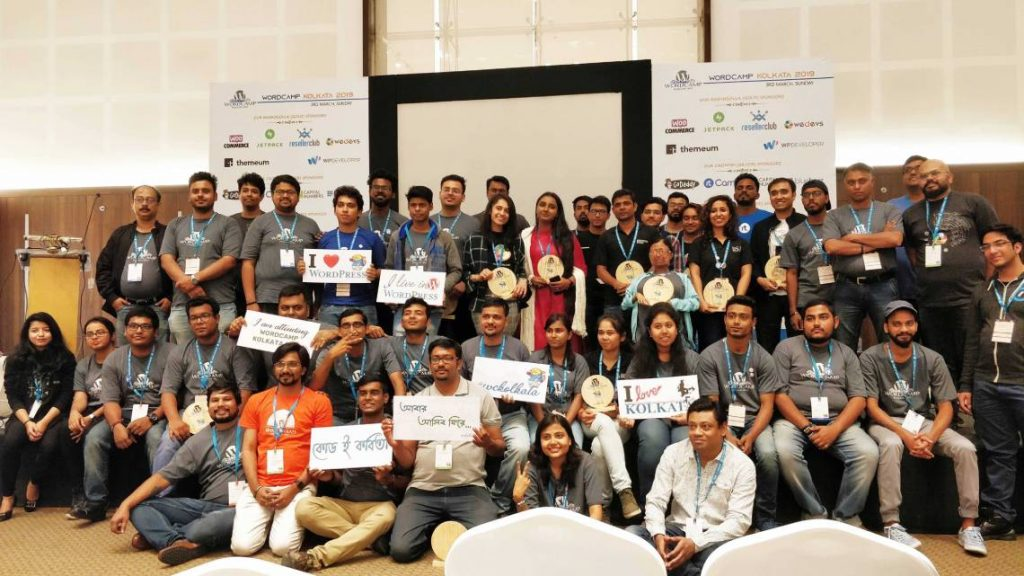Image: Moment at WordCamp Kolkata 2019